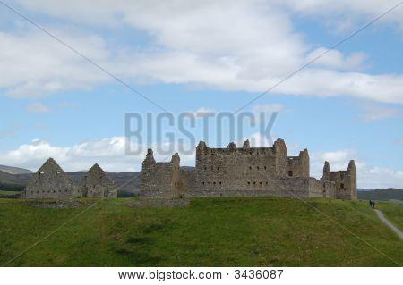 Ruthven Barracks In Scotland