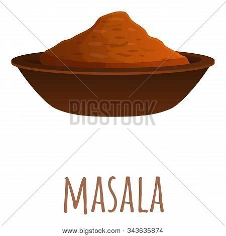 Masala Icon. Cartoon Of Masala Vector Icon For Web Design Isolated On White Background