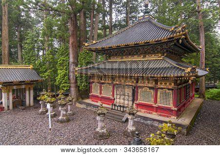 Nikko Toshogu Shrine In Nikko Shrines, Japan.