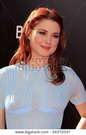 LOS ANGELES - JUN 26:  Alexandra Breckenridge arrives at the