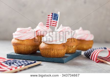 Happy Presidents Day, February 17. Patriotic Baking Supply Cup Cake Holders For Holiday And July 4th