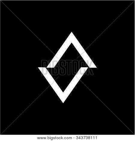 Simple Va, Av, Anv, N Initials Company Logo