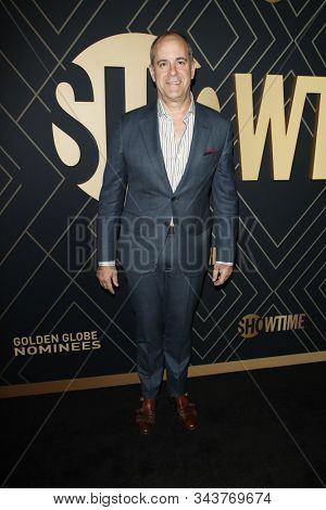 LOS ANGELES - JAN 4:  David Nevins at the Showtime Golden Globe Nominees Celebration at the Sunset Tower Hotel on January 4, 2020 in West Hollywood, CA