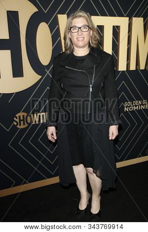 LOS ANGELES - JAN 4:  Lauren Greenfield at the Showtime Golden Globe Nominees Celebration at the Sunset Tower Hotel on January 4, 2020 in West Hollywood, CA