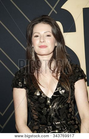 LOS ANGELES - JAN 4:  Aleksa Palladino at the Showtime Golden Globe Nominees Celebration at the Sunset Tower Hotel on January 4, 2020 in West Hollywood, CA