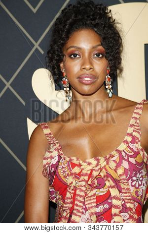 LOS ANGELES - JAN 4:  Condola Rashap at the Showtime Golden Globe Nominees Celebration at the Sunset Tower Hotel on January 4, 2020 in West Hollywood, CA
