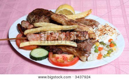 Greek Taverna Mixed Grill