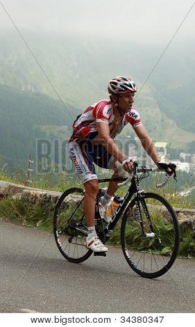 The Cyclist Vladimir Gusev
