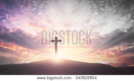The Cross Symbol Of Christian And Jesus Christ