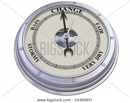 Barometer Indicating Change