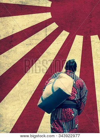 Tokyo, Japan. September 9, 2018. : Sumo Wrestlers Arrives At The Ryogoku Kokugikan Sumo Arena In Cen