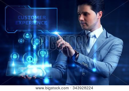 Business, Technology, Internet And Network Concept. Marketing Content Planning Advertising Strategy