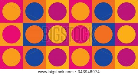 60s Mod Design | Trippy Retro Background For Swinging Sixties Parties | Vintage Feel Seamless Patter