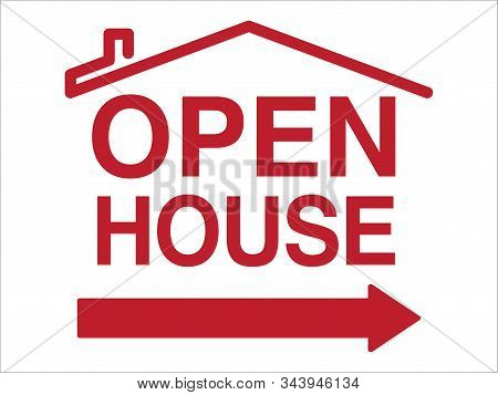 Open House Sign For Real Estate Agents | Directional Layout For Open Houses & Home Showings | Real E