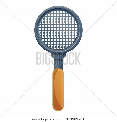 Sieve Icon. Cartoon Of Sieve Vector Icon For Web Design Isolated On White Background