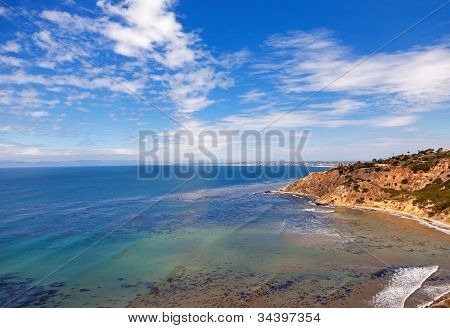 Lanscape With The Hill And Ocean