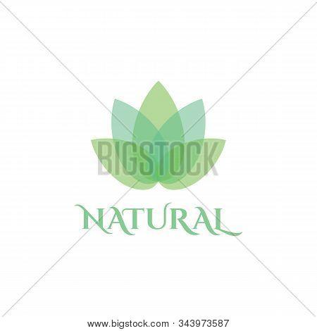 Natural Leaf Logo Design Template Spa & Esthetics