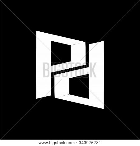Pd, Pnd Initial Geometric Company Logo And Vector Icon