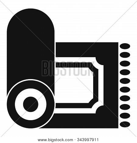Prayer Mat Icon. Simple Illustration Of Prayer Mat Vector Icon For Web Design Isolated On White Back