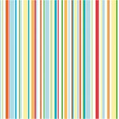 Bold stripes background illustration in bright colors poster