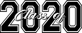 Graduating Class Of 2020 Border Graphic Art Banner