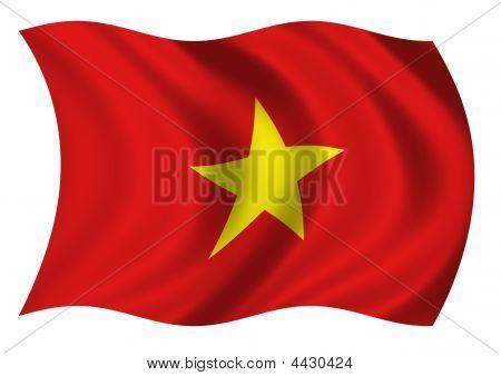 Socialist Republic Of Viet Nam Flag