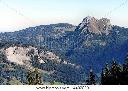 The Aggenstein in the Allgaeu Alps