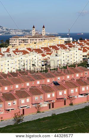 Urbanization In Algeciras. Spain