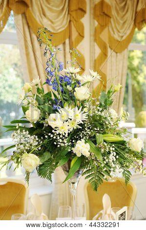 Flowers At Wedding