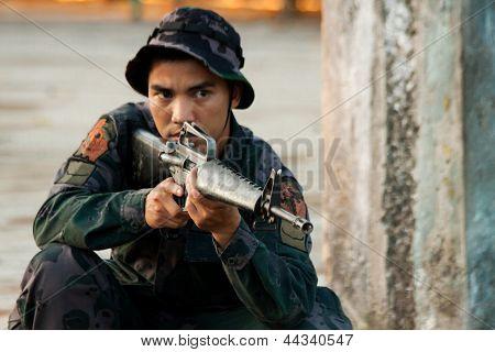 Elite soldier training