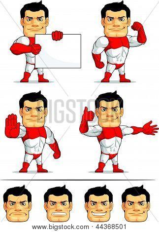 Superhero Customizable Mascot 6