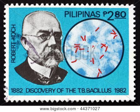 Postage Stamp Philippines 1982 Robert Koch