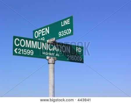 offene Kommunikation