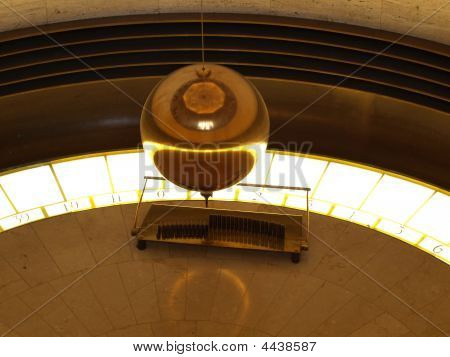 Gold Plated Pendulum