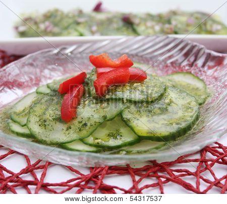 salad of cucumber