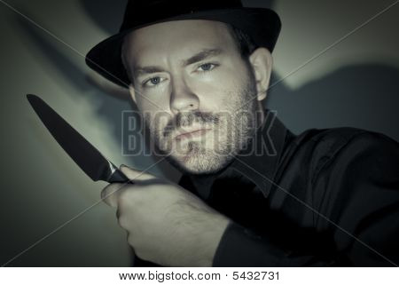 Murder With Knife