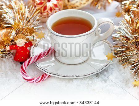 Christmas Tea Cup