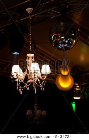 Classical Light In A Festival Vip Zone