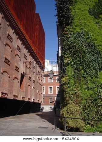 Caixa Forum In Madrid With Vertical Garden