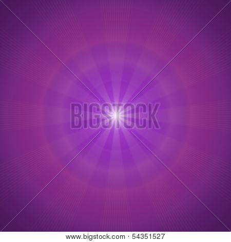 Purple Sunny Background