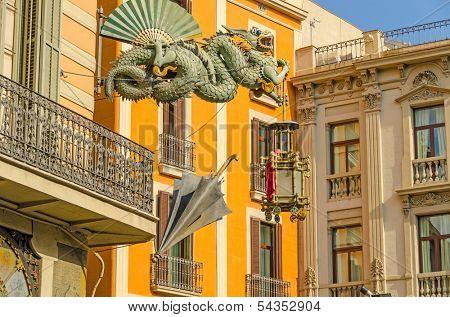Barcelona, Spain - Casa Bruno Cuadros
