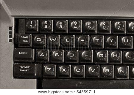 Dirty Old Typewriter