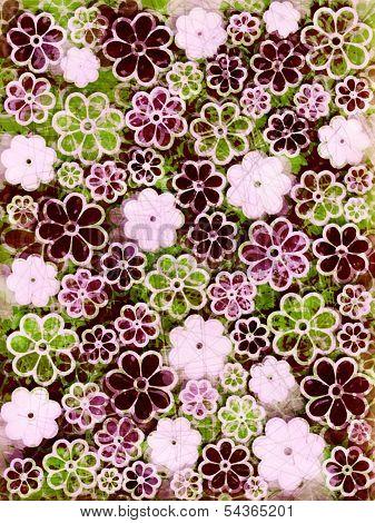 Floral Scrapbook Paper