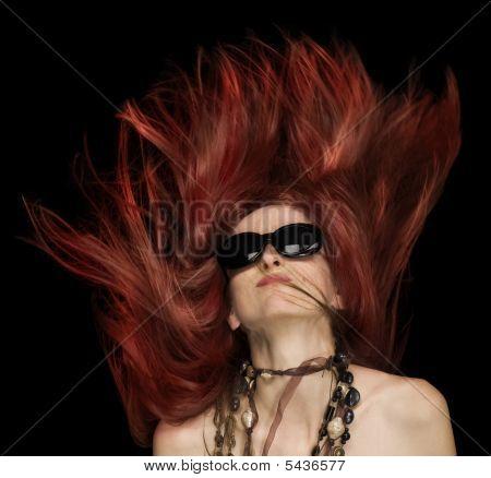 Fly Fire Hair