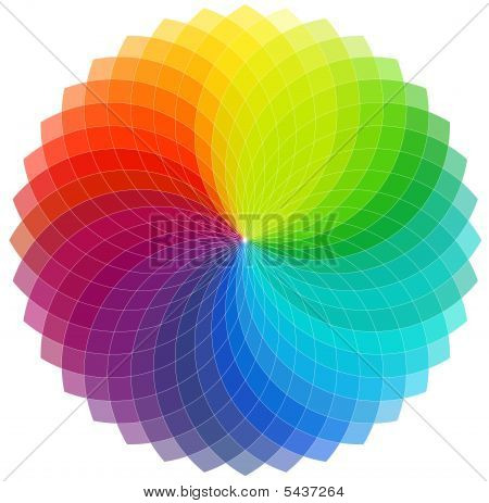 Color Wheel Background