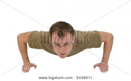 Army Guy Pushup