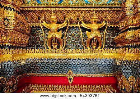 The Garudas At Grand Palace Wat Phra Kaew