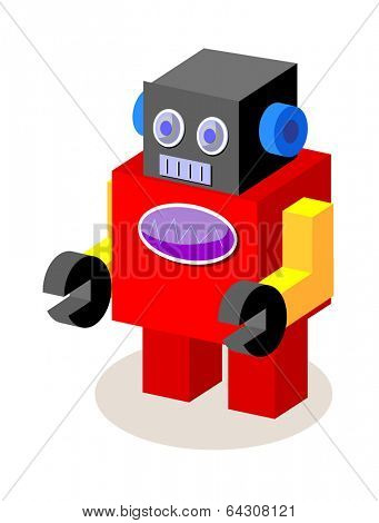 vector icon robot