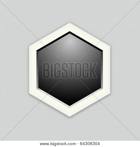 The Blank Hexagon Template