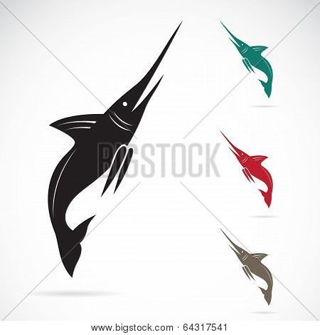 Vector Image Of An Sailfish